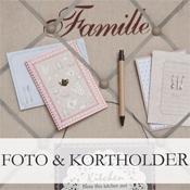 Foto & Kortholdere