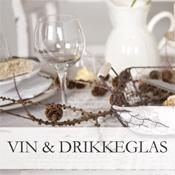 Vin & Drikkeglas