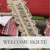 Welcome skilte
